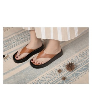 Chaussure plate et compensée Chaussures