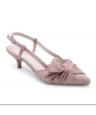escarpin petit talon avec fleur Chaussures