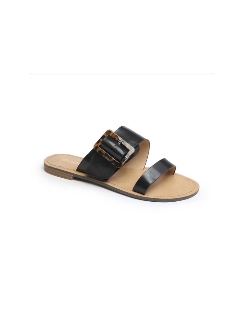Sandale ouvert semelle cuir Chaussures