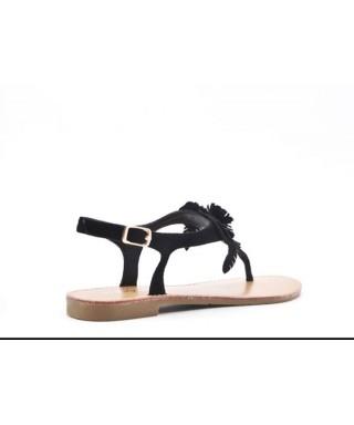 Sandale avec semelle cuir Chaussures