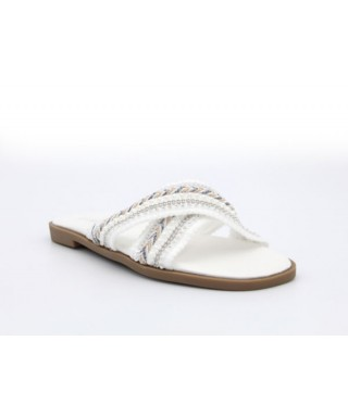 sandale avec Perle Femme