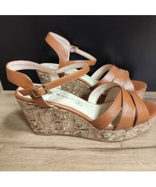 sandale compensée Compensée
