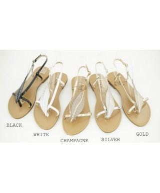 Sandale avec semelle cuir Sandale